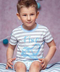 костюм летний на мальчика, дино 1805173 фотография