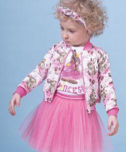 костюм на девочку тройка, банни 8001 фотография