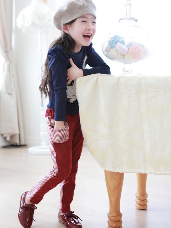 костюм на девочку с брючками кошечка 140118 фотография