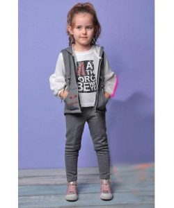 костюм на девочку тройка cemi kids бренд 1136 фотография