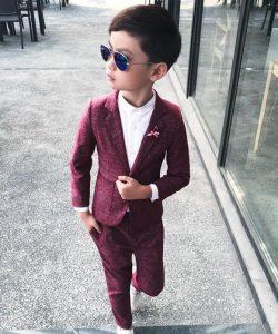 костюм на мальчика с пиджаком денди 250219 фотография