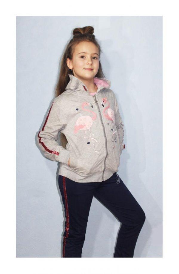 костюм спортивный на девочку фламинго 88026 от 8 до 16 лет 88026 фотография