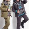 костюм теплый для мальчика тройка с жилеткой 3003143 фотография №1
