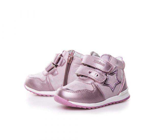 красивые ботинки для девочки на липучках 7791 фотография