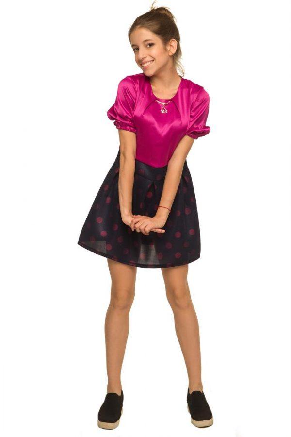 красивое платье для девочки, стиль 1401 фотография