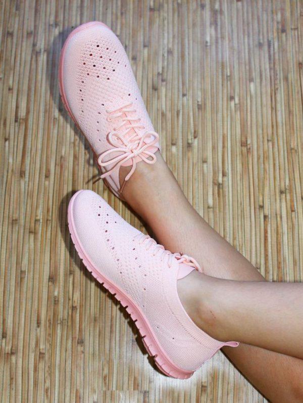 кроссовки легкие лето розовые 10619 фотография