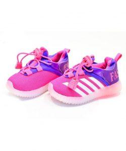 кроссовки детские для девочки с подсветкой 2325-9 фотография