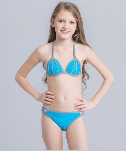 купальник детский раздельный для девочки подростка, вик 3266 фотография