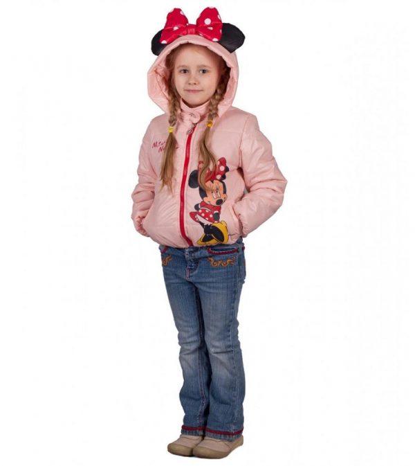 детская куртка для девочки, минни 220315 фотография