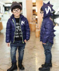 куртка для мальчика дракоша синяя 2409166 фотография