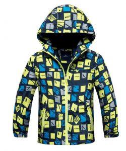куртка для мальчика весна осень, спорт салатовый 502163 фотография