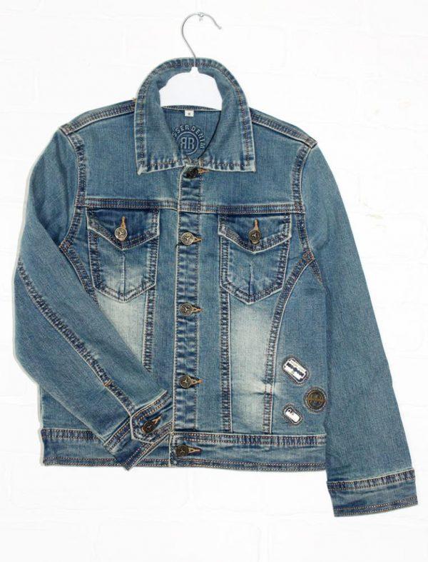 куртка джинсовая на мальчика от 3 до 13 лет 5133 фотография