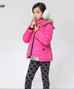 куртка пуховик на девочку ушки 911144 фотография