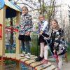 куртка ветровка для девочки, камуфляж 404188 фотография №1