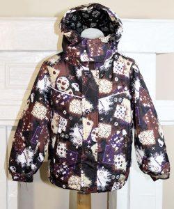 куртка ветровка для мальчика машинки 310163 фотография