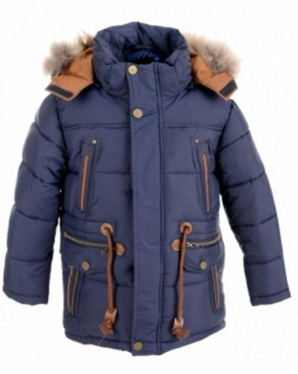 куртка зимняя для мальчика подростка 81016 фотография