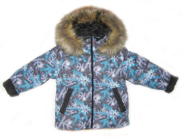 детская зимняя куртка на мальчика, снежок 3587 фотография