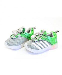 летние детские кроссовки с подсветкой 2325-18 фотография
