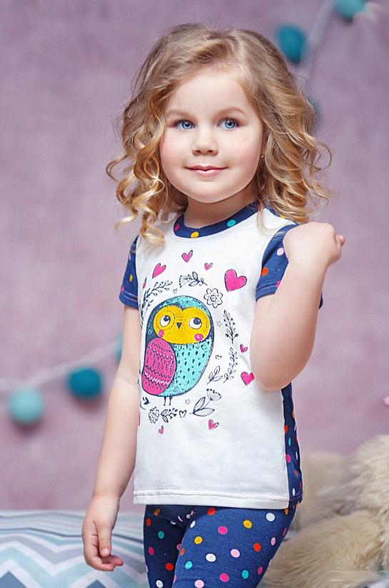 летний детский костюм на девочку, совуня 1805171 фотография