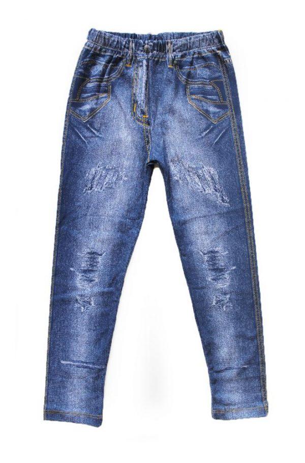 лосины для девочки под джинсы, размеры 7-10 лет 1005 фотография