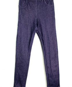 лосины теплые на меху для девочки, джинс 3737 фотография