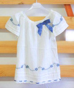 модная летняя блуза в стиле кантри 2705175 фотография