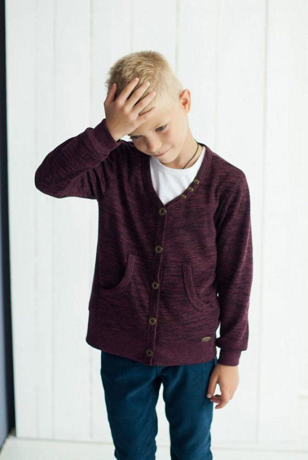 модная детская кофта для мальчика подростка 271017 фотография