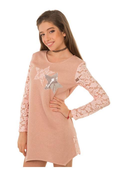 модная туника для девочки подростка старз 151217 фотография