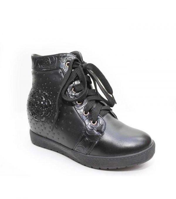 модные зимние ботинки для девочки подростка 9 фотография