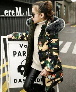 детское пальто на девочку еврозима, гламур 1244 фотография