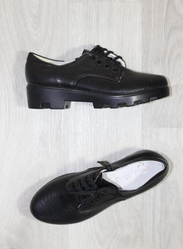 модные туфли для девочки, школа 8302 фотография