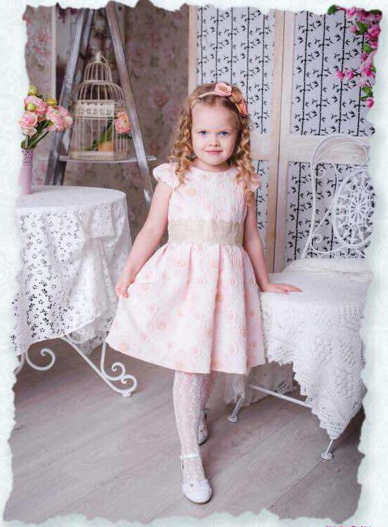 нарядное платье для девочки, диана 250417 фотография