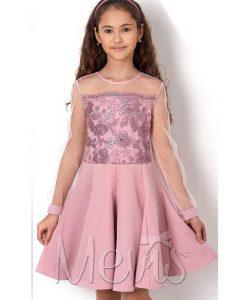 нарядное платье для девочки гвоздика розовое 2559 фотография
