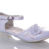 нарядные туфли для девочки белые 69-13 фотография №1