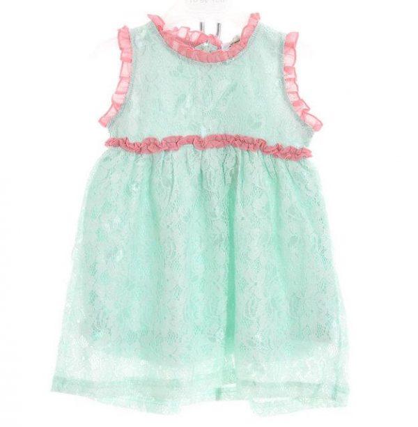 нарядное платье на девочку, без рукавов 2605173 фотография