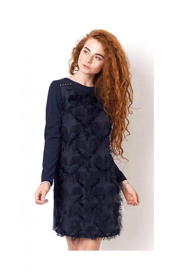 нарядное платье для девочки подростка, гламур 2542 фотография
