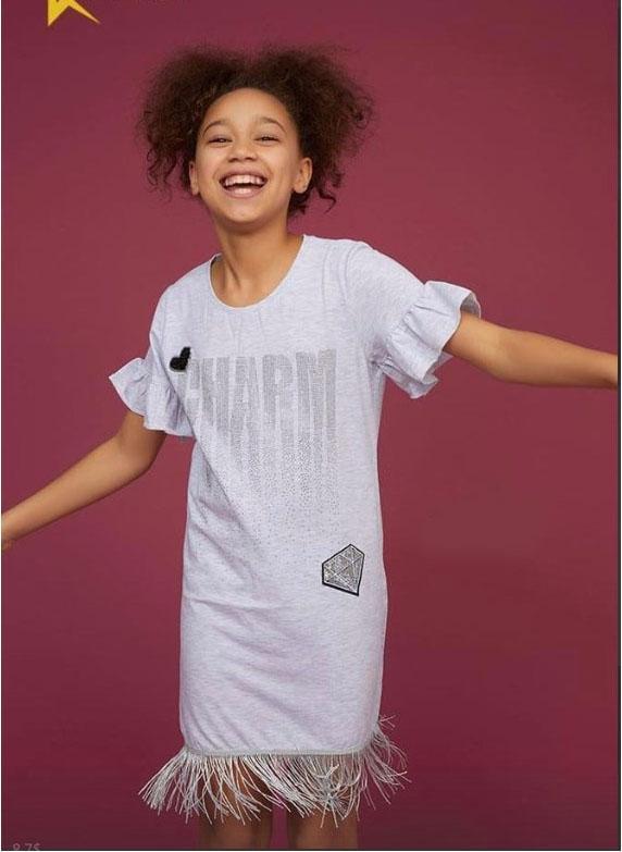 платье для девочки на лето диамант 1175 фотография