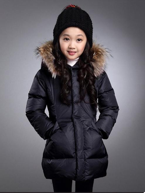 пальто на девочку зимнее 121115 фотография