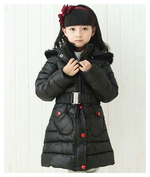 пальто зимнее микки 191022 черное 191022 фотография