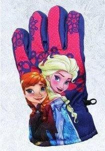 перчатки для девочки непромокаемые холодное сердце 271218 фотография