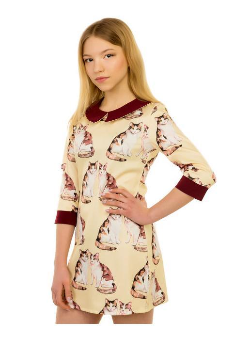 платье для девочки, кошки 1513 фотография