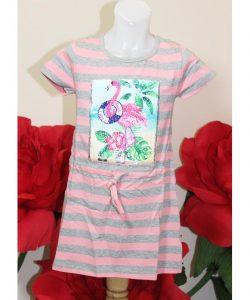 платье для девочки с пайетками фламинго 8477 8477 фотография