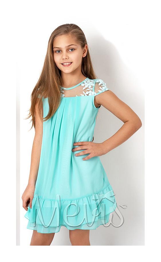 платье на девочку мята 2843 фотография