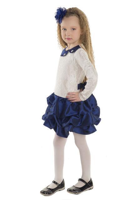 платье нарядное праздничное для девочки 1212152 фотография