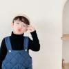 полукомбинезон детский стеганый синий 290919 фотография №1