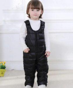 полукомбинезон для мальчика черный 810177 фотография