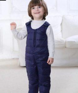 полукомбинезон зимний для мальчика 151116 фотография