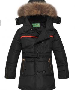 пуховик куртка зимняя на мальчика, подростковый 180915 фотография