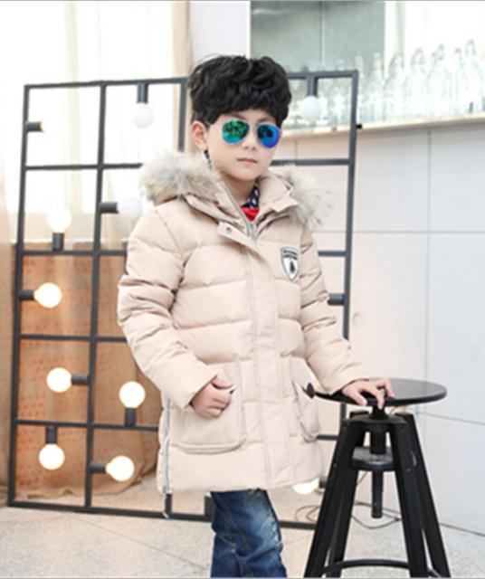 пуховик детский куртка зимняя на мальчика 151215 фотография