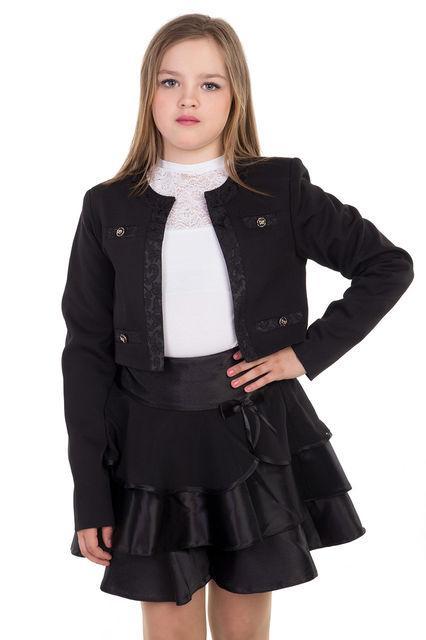 пиджак школьный для девочки 100715 фотография
